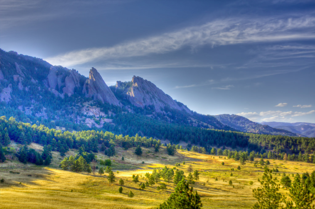 Chautauqua and Flatirons, via Dave Dugdale on Flickr